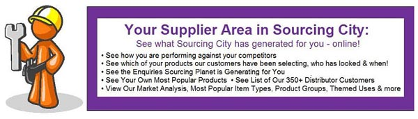 Sourcing City Supplier Area